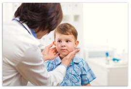 Tonsillitis in children